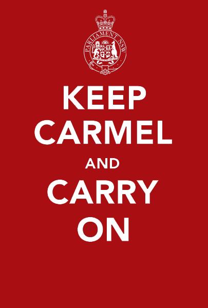 Keep Carmel And Carry On